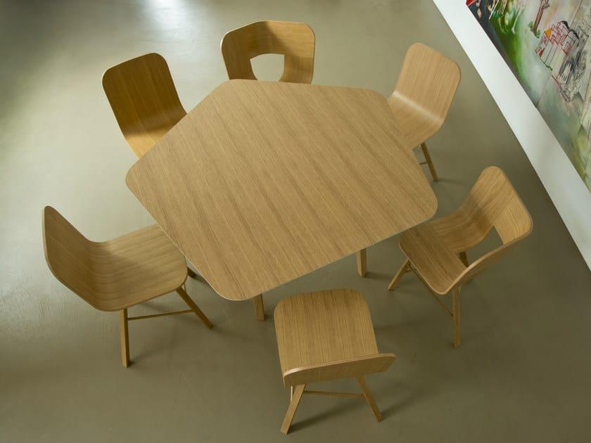 Wood veneer table TRIA   Table - Colé Italian Design Label