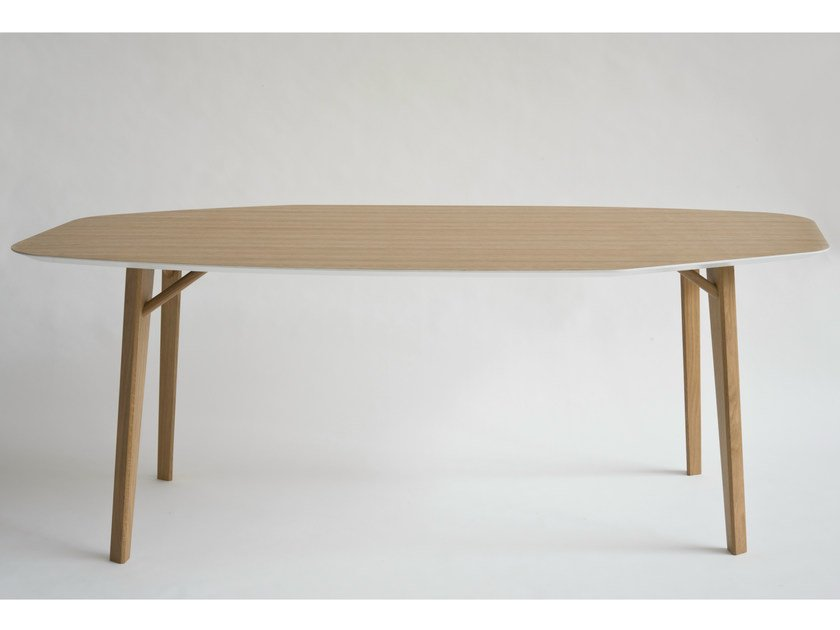 Oak table TRIA | Oak table - Colé Italian Design Label