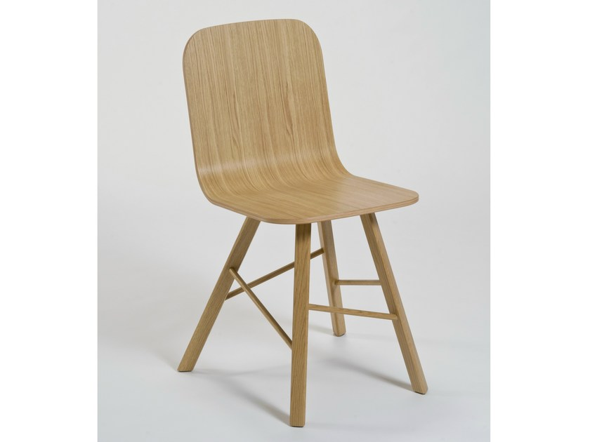 Multi-layer wood chair TRIA SIMPLE | Multi-layer wood chair by Colé Italia