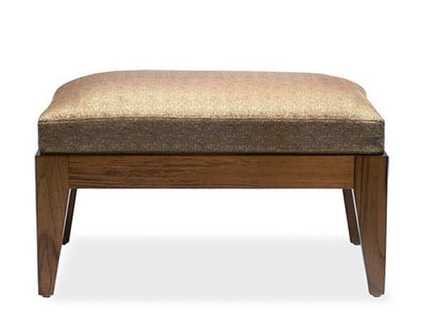 Wooden footstool SANTAI | Footstool by WARISAN