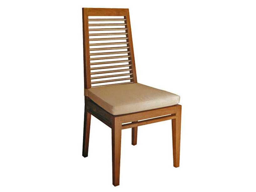 Wooden chair BASIC | Chair by WARISAN