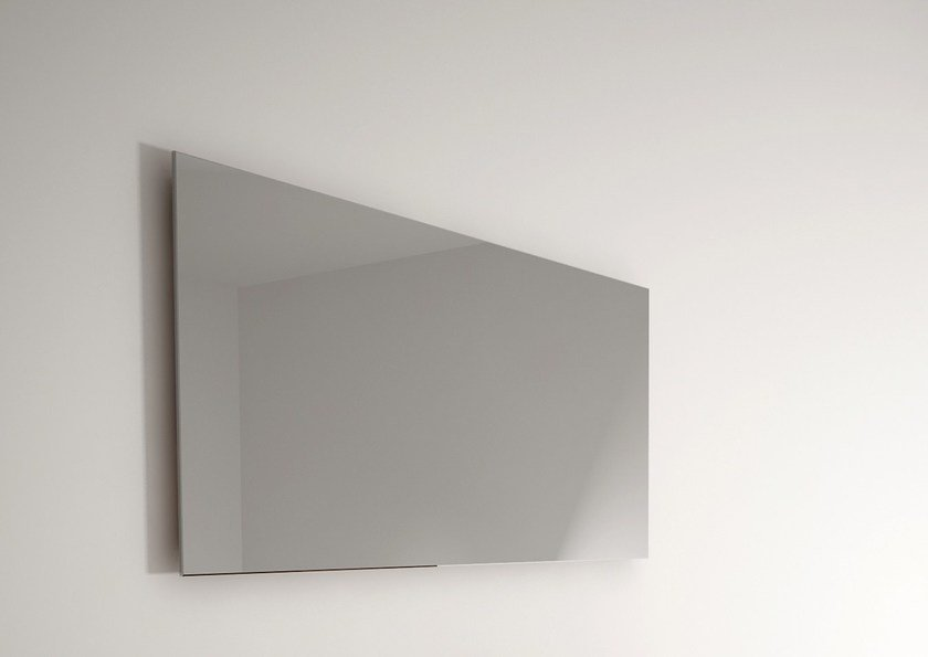 Rectangular wall-mounted bathroom mirror BILLIE | Mirror - KARPENTER