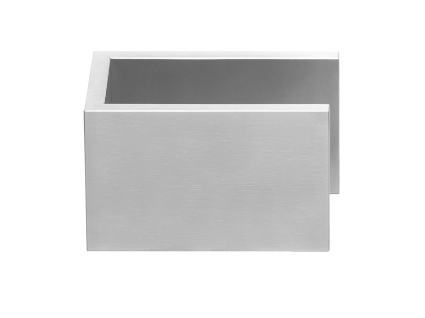 Stainless steel door knob with brushed finishing RIBBON   Door knob by Formani