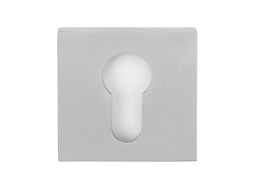 Square stainless steel keyhole escutcheon RIBBON | Keyhole escutcheon - Formani Holland B.V.