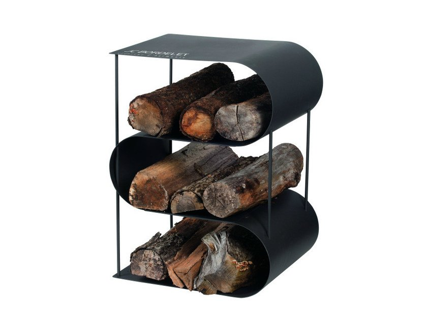 Metal Log holder FIREPLACES AND HEATERS | Log holder - JC Bordelet Industries