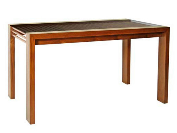 Rectangular wooden dining table COCO | Table - WARISAN