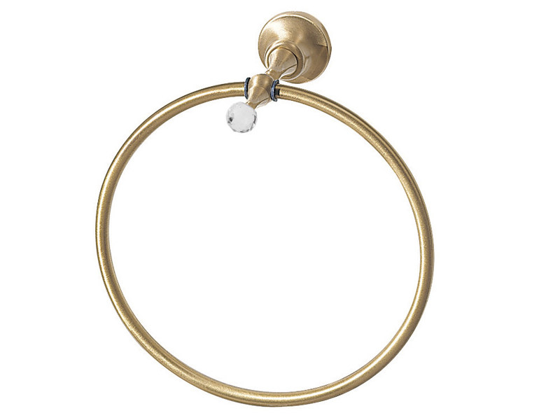 Towel ring with Swarovski® Crystals IBISCO CRYSTAL | Towel ring - Giulini G. Rubinetteria