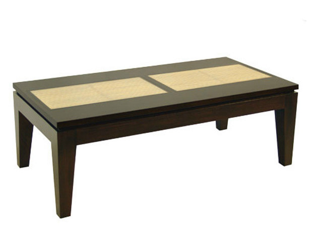 Rectangular wooden coffee table for living room RIKO | Rectangular coffee table by WARISAN