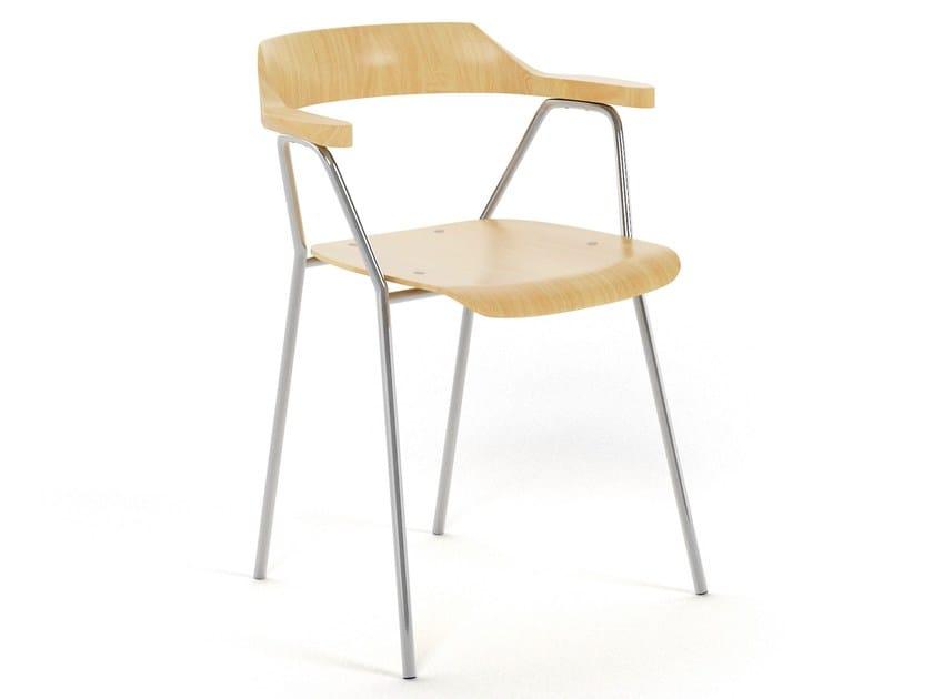 Stackable chair 4455 CHAIR - Rex Kralj