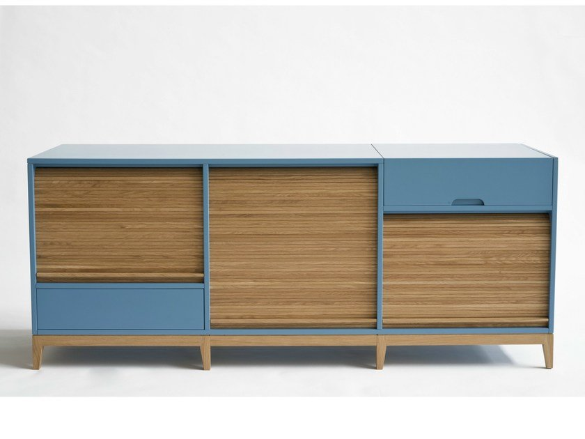 TL31 - Light blue, oak