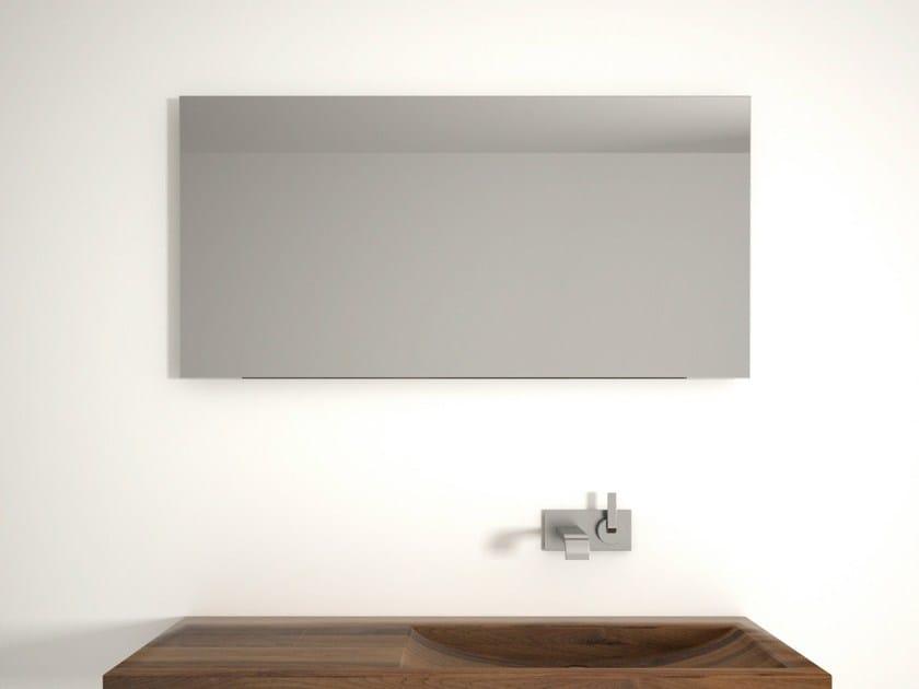 Rectangular wall-mounted bathroom mirror LENA | Bathroom mirror by KARPENTER