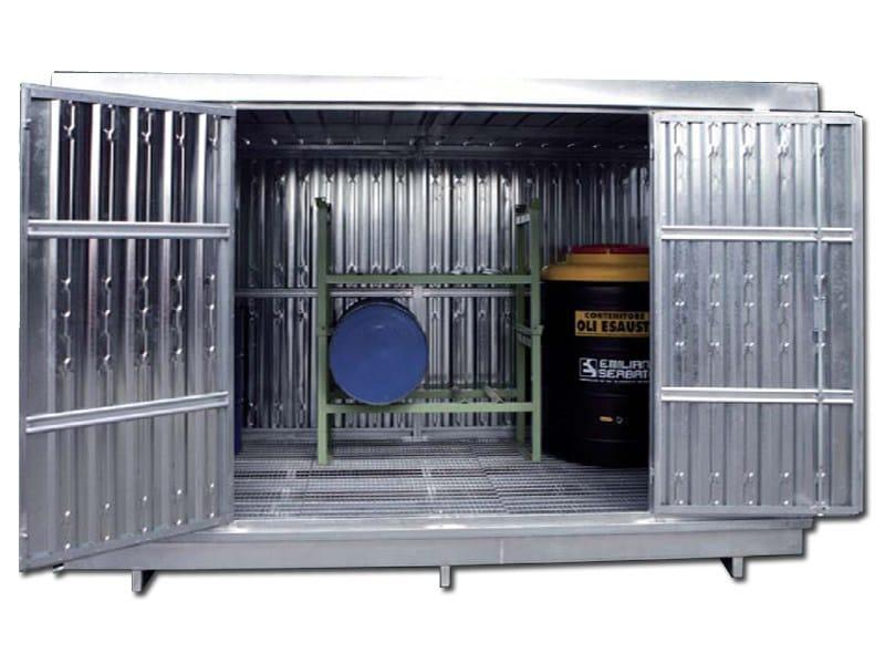 Hazardous and toxic waste treatment ISOLA 350 - EMILIANA SERBATOI