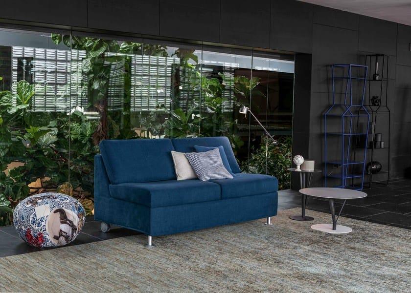 Contemporary style leather small sofa SON | Small sofa by Bonaldo