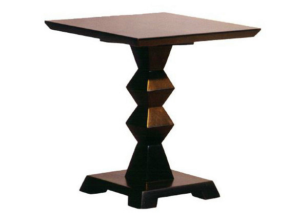 Square wooden coffee table for living room BRANCUSI | Coffee table - WARISAN