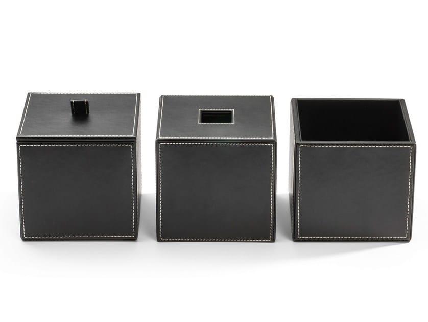 Imitation leather storage box BROWNIE BMD1 - DECOR WALTHER