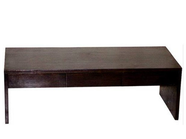 Rectangular wooden coffee table MINIMAL | Rectangular coffee table - WARISAN
