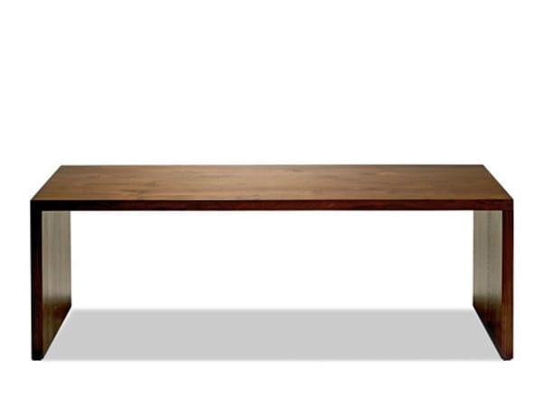 Rectangular wooden coffee table MINIMAL   Coffee table by WARISAN