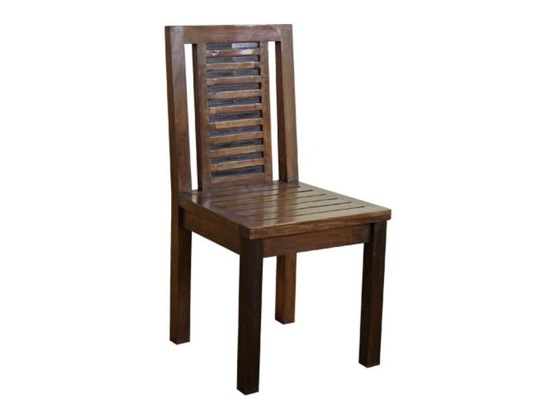 Wooden chair MIRAI | Chair - WARISAN