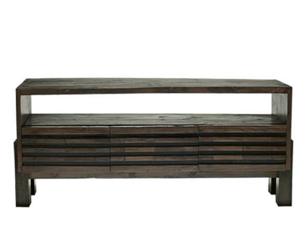 Wooden TV cabinet MIRAI | TV cabinet - WARISAN