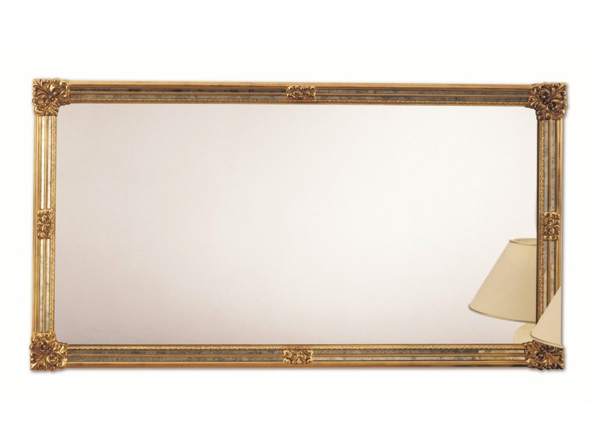 Classic style rectangular framed mirror TRADITION - DEKNUDT MIRRORS
