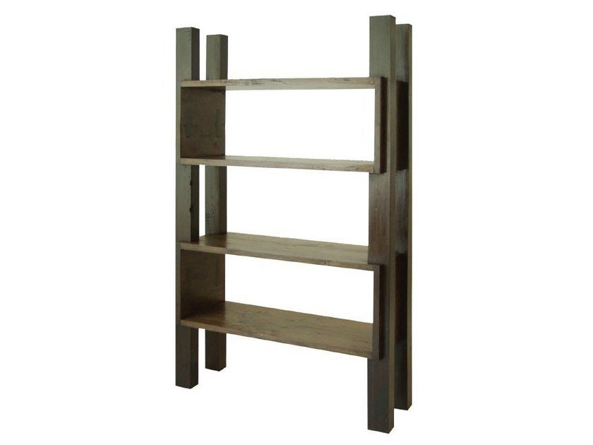 Open freestanding bookcase MIRAI | Bookcase - WARISAN
