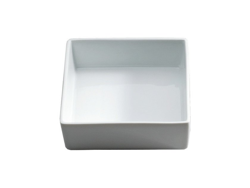 Countertop Ceramic materials soap dish DW 534 - DECOR WALTHER