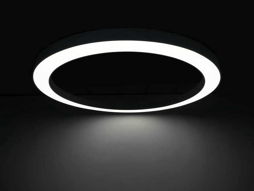 LED pendant lamp LARGE CIRCLE LED LIGHT by Neonny