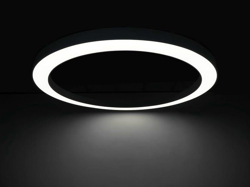 LED pendant lamp LARGE CIRCLE LED LIGHT - Neonny