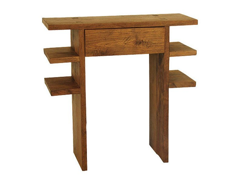 Rectangular console table with drawers NEO PRIMITIVE | Console table - WARISAN