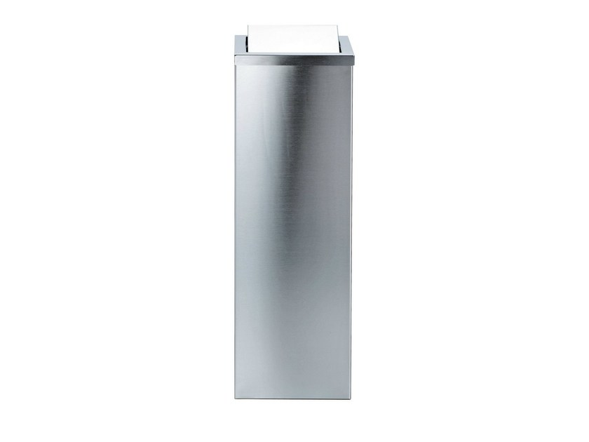 Metal bathroom waste bin DW 1013 - DECOR WALTHER
