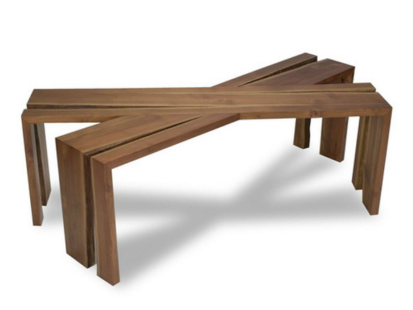 Teak coffee table for living room IJO | Coffee table - WARISAN