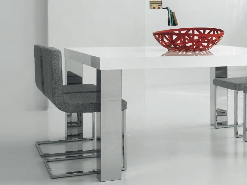 Tavolo quadrato da pranzo MASTER | Tavolo quadrato - FEG Industria Mobili