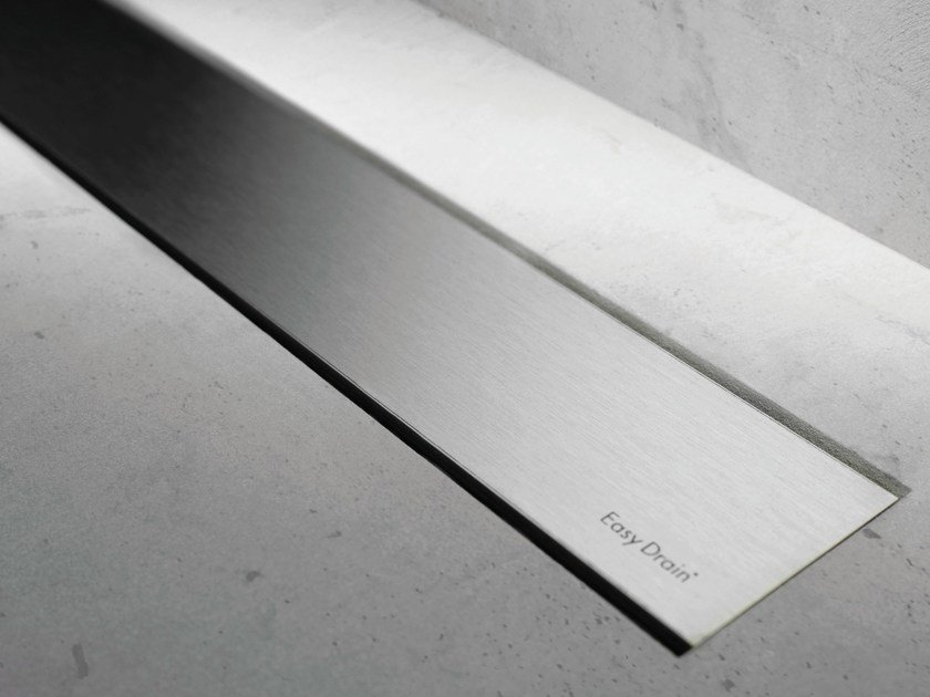 Shower channel MODULO BASIC BRUSHED STAINLESS - Easy Sanitary Solutions