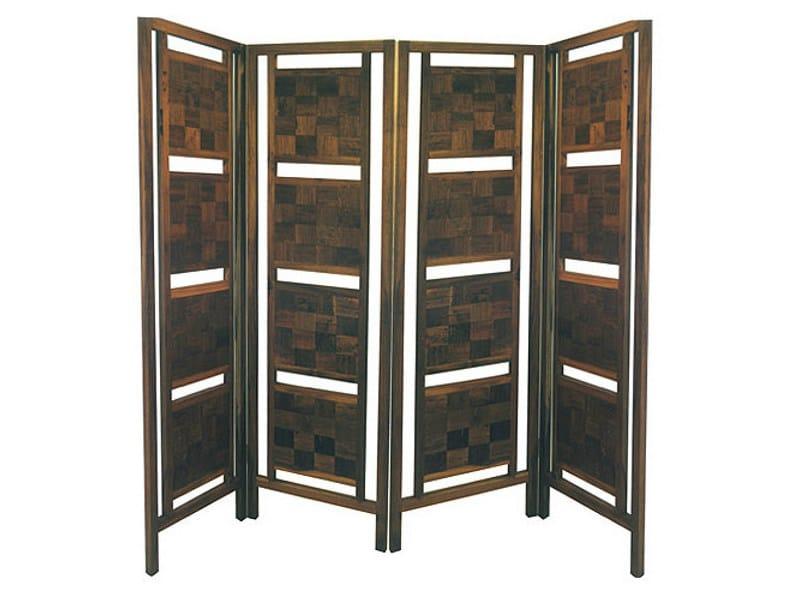 Wooden screen INLAID | Screen - WARISAN