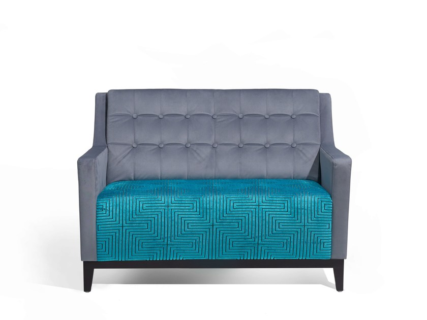 Fabric small sofa NOTY DOUBLE by Fenabel