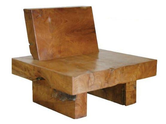 Wooden armchair ORIGINS | Armchair - WARISAN