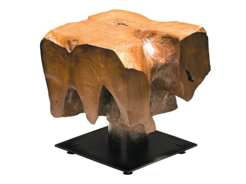 Wooden coffee table for living room ORIGINS | Coffee table for living room - WARISAN