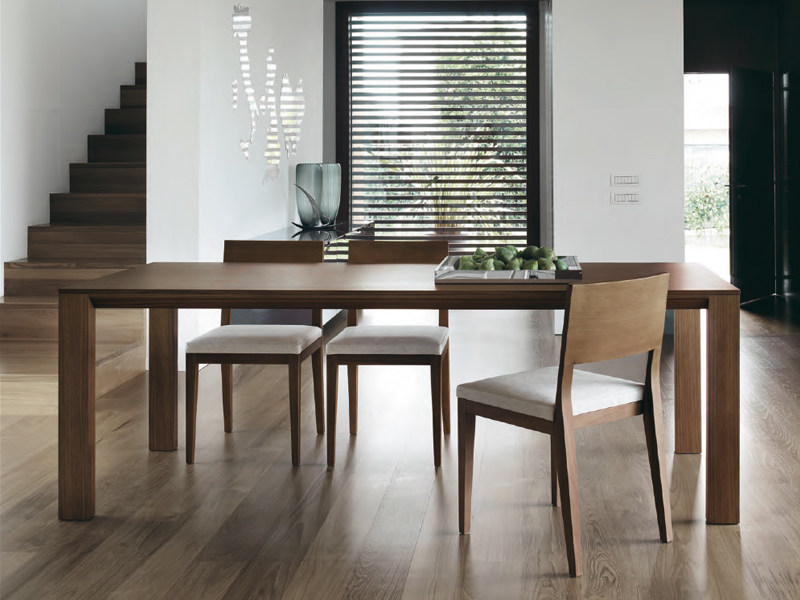 Table extensible en bois modus by feg industria mobili for Industria mobili