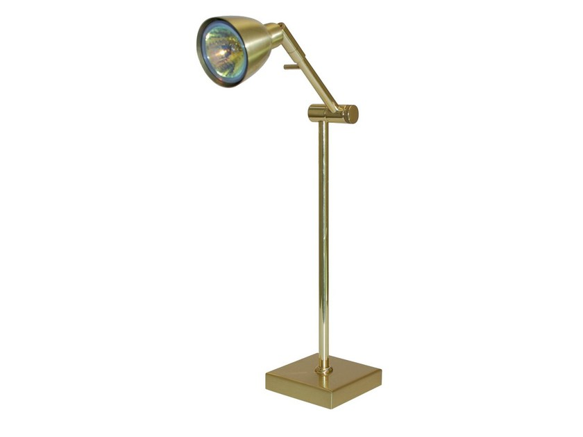 Brass table lamp ARIANE | Table lamp - TEKNI-LED