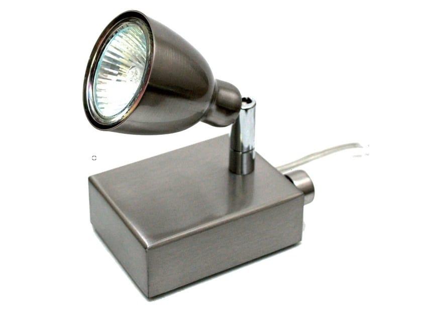 Adjustable brass spotlight ARIANE | Adjustable spotlight by TEKNI-LED