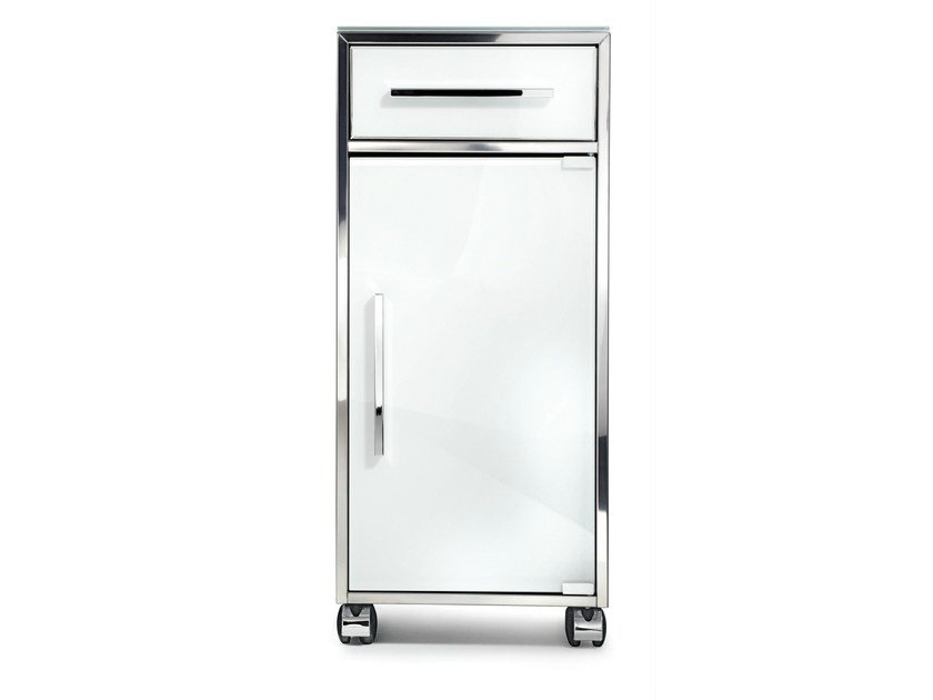 Bathroom cabinet with casters RS 1 by DECOR WALTHER
