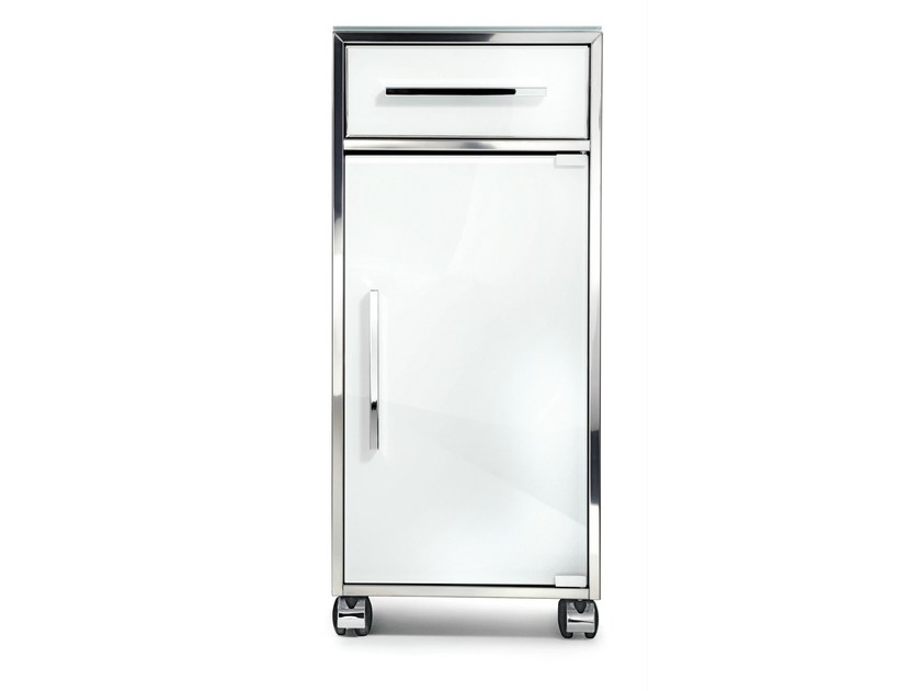 Bathroom cabinet with casters RS 1 - DECOR WALTHER