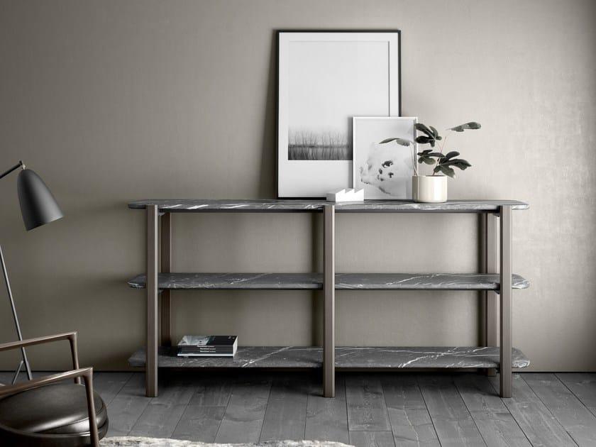 Sectional marble shelving unit ALAKA | Shelving unit by RETEGUI