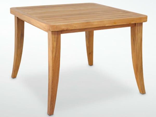 Square teak garden table SOPHIE | Table - WARISAN