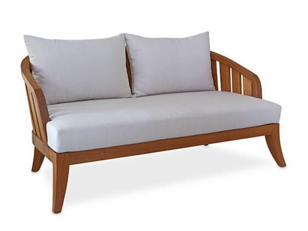 Teak garden sofa SOPHIE   Sofa - WARISAN