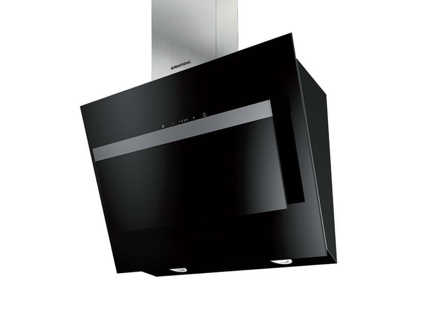 Wall-mounted crystal and stainless steel cooker hood GDK 4382 B | Cooker hood - GRUNDIG