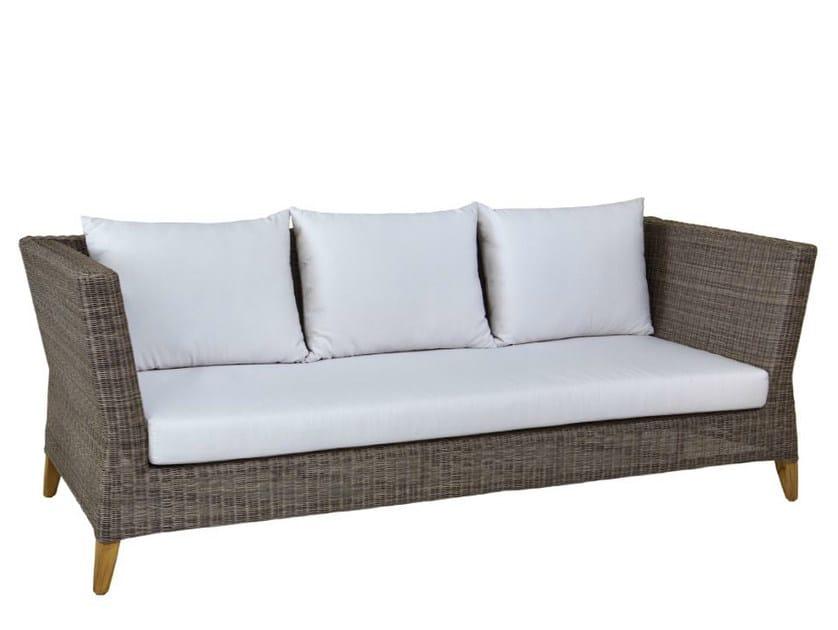 3 seater garden sofa SHELLY | 3 seater sofa - WARISAN