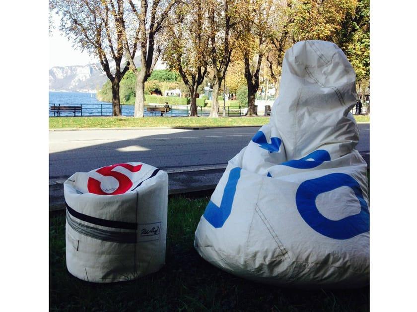 Dacron® bean bag with removable cover SACCO XL - RiVelami®