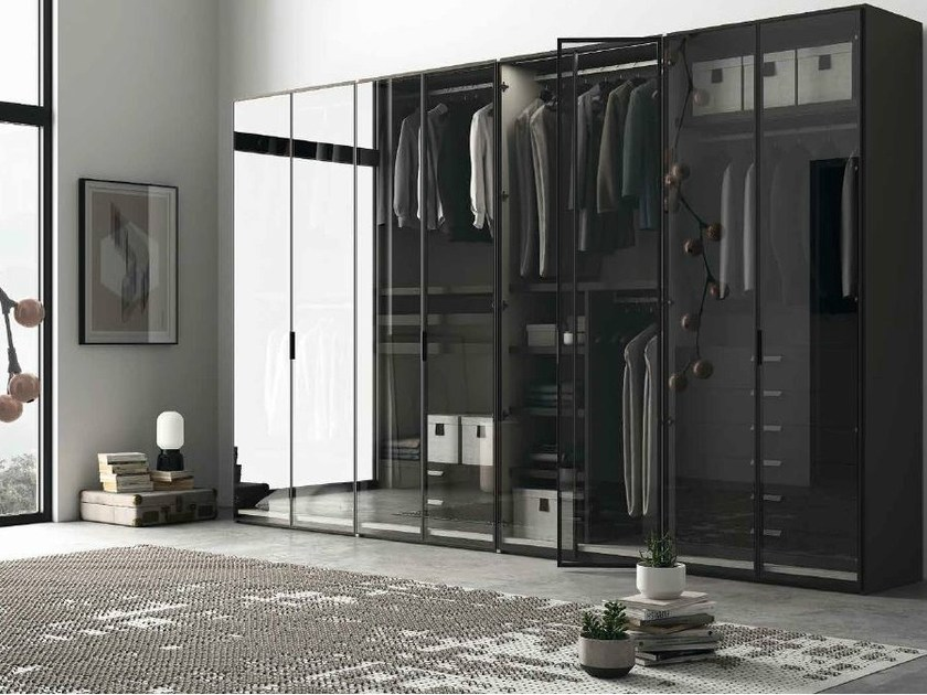 Glass wardrobe EMOTION 16 - ANTA GLASS by Dall'Agnese