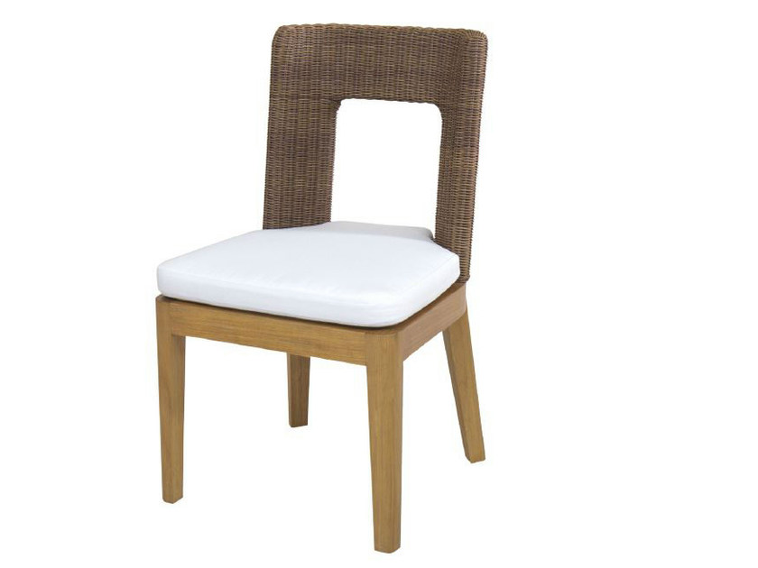 Wooden garden chair TEABU | Chair by WARISAN